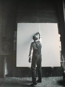 L'artiste au travail