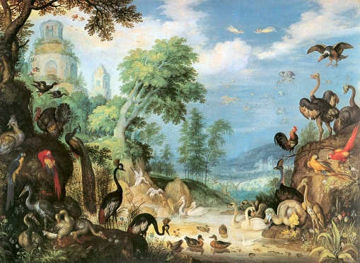 Roelant_Savery_-_Landscape_with_Birds_-_WGA20885