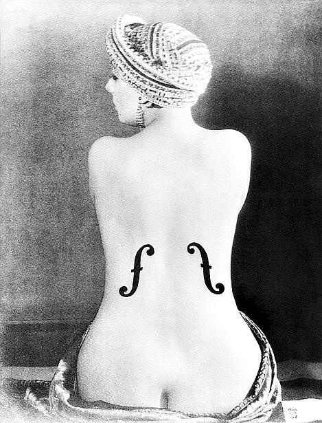 "(C) Man Ray Trust / Adagp, BI, Paris 2008 Man Ray, ""Le Violon d'Ingres"", 1924."