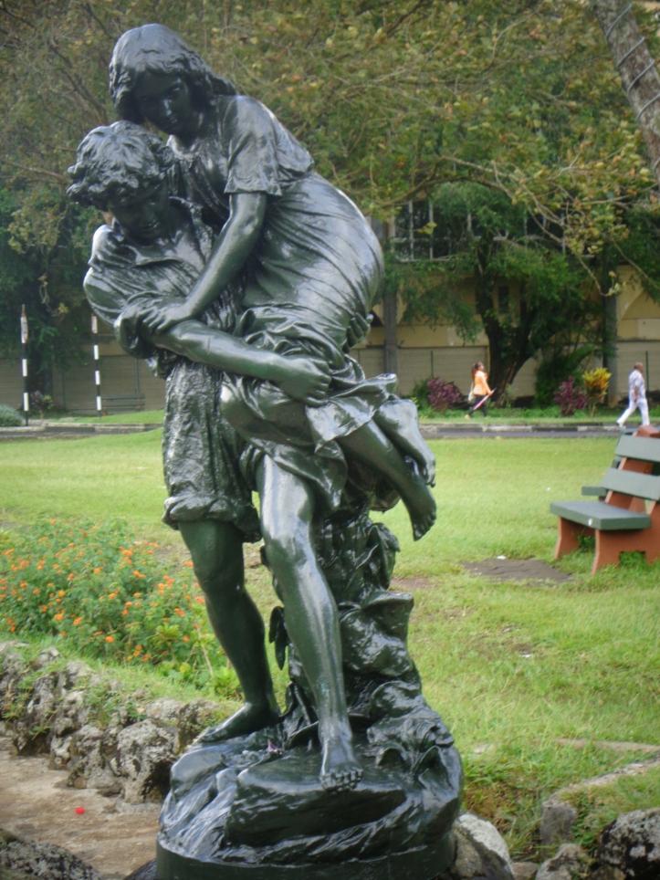 Statue de Paul et Virginie, tout un mythe à Maurice!